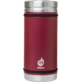 MIZU V5 - Gourde - with V-Lid 500ml rouge
